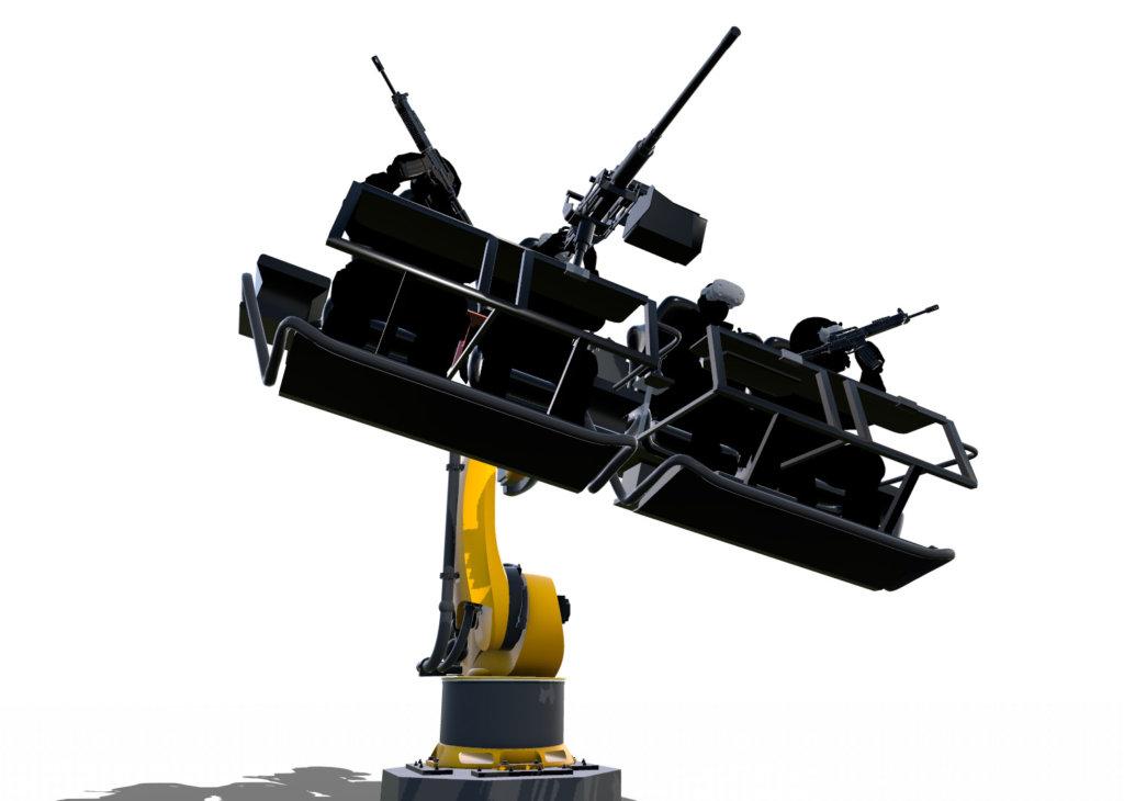 飛行模擬訓練器_4人座