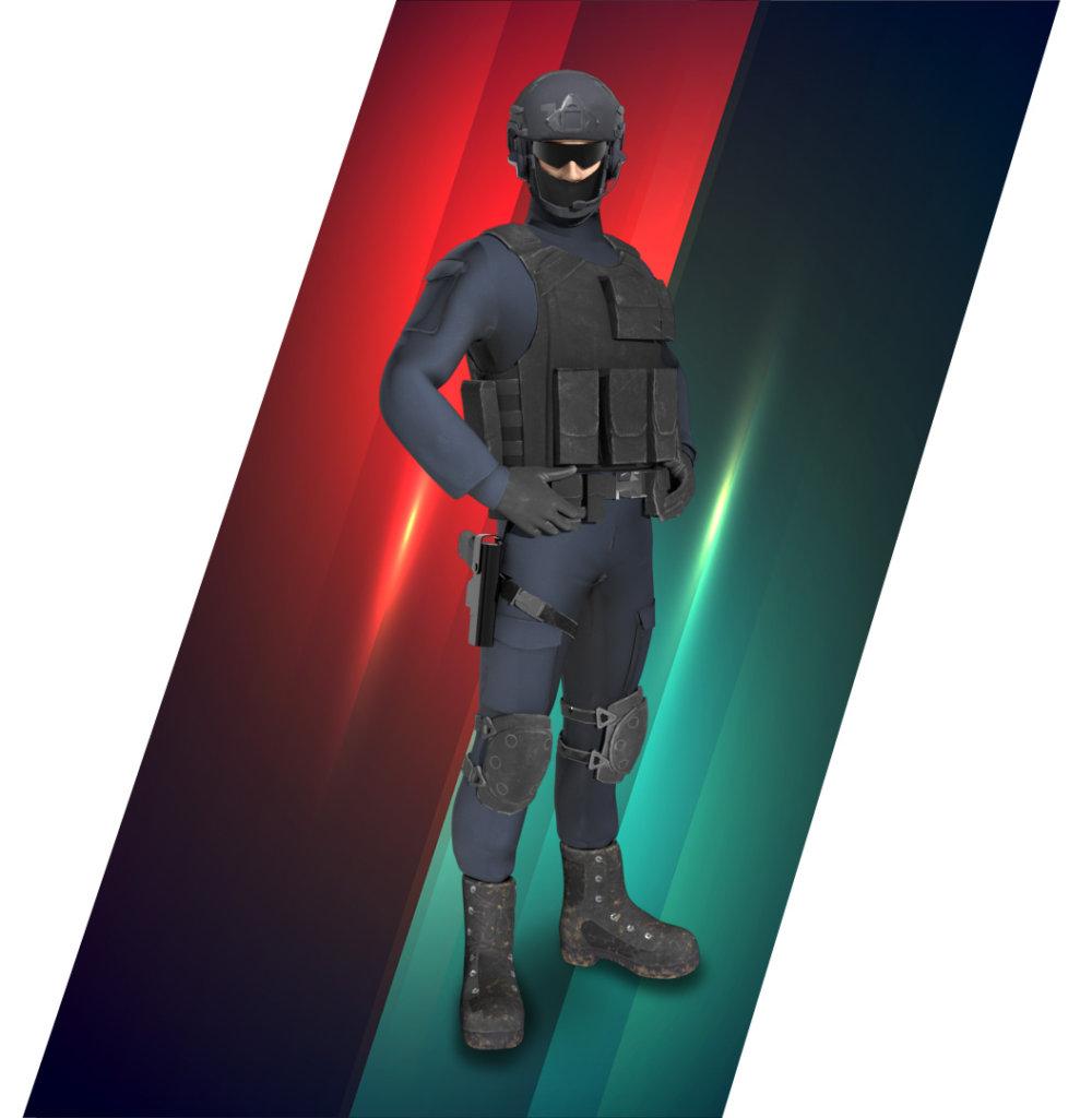 虛擬教官-智慧軍警
