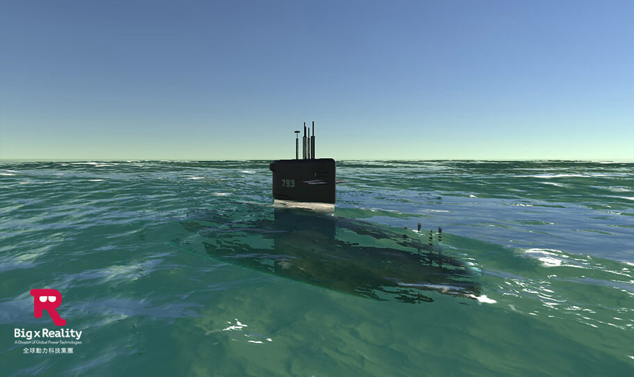 海軍艦艇訓練模擬系統